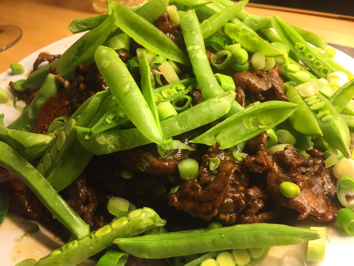 Asiatisk oxfilé med chili, vitlök och sesam